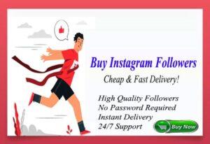 Buy 100 Instagram Followers $1