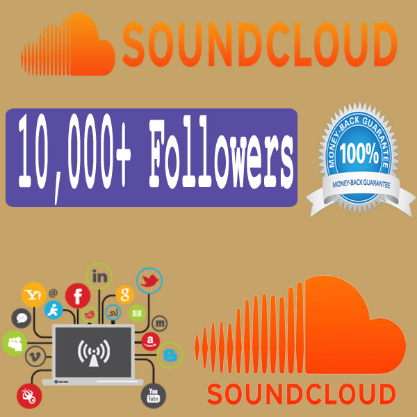 Buy 10,000 Soundcloud Followers