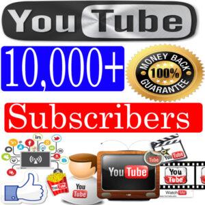 Buy-10000-Youtube-Subscribers