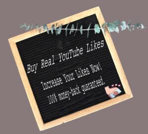Buy 50 YouTube Likes $1