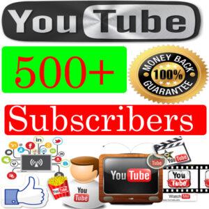 Buy-500-youtube-Subscribers