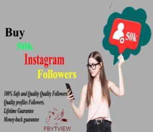 Buy 50k Instagram Followers