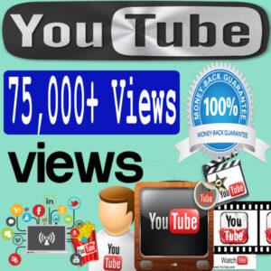 Buy 75000 YouTube Views