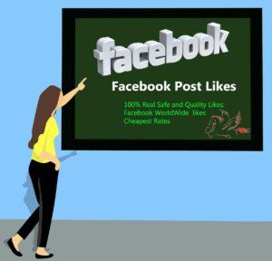 Buy Facebook Post Likes $1