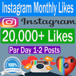 Buy Instagram Likes Monthly Cheap