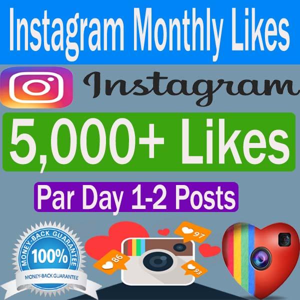Buy Monthly Instagram Likes