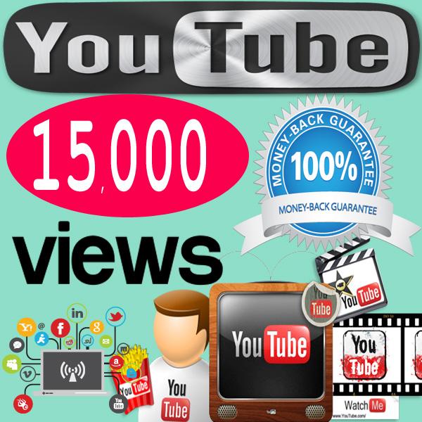 Buy 15,000 YouTube Views