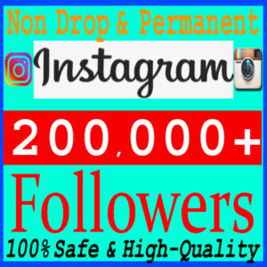 Buy 200k Instagram Followers