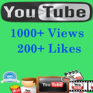 Buy YouTube Views & Likes