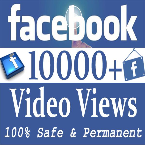 Buy 100 Facebook Video Views