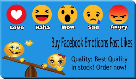 How To Get Facebook Post Likes Emoticons